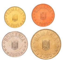 Roemenië UNC Set 2005