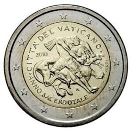 """Vaticaan 2 Euro """"Jaar van de Priester"""" 2010"""