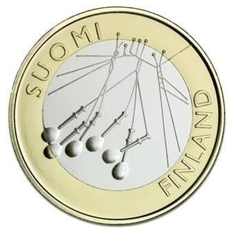 "Finland 5 Euro ""Satakunta"" 2010"