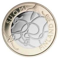 "Finland 5 Euro ""Tavastia"" 2011"
