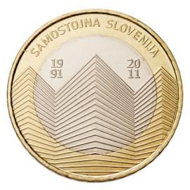 """Slovenië 3 Euro """"Onafhankelijkheid"""" 2011"""