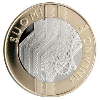 """Finland 5 Euro """"Uusimaa"""" 2011"""
