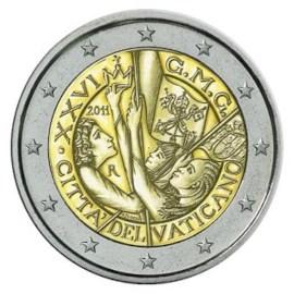 """Vaticaan 2 Euro """"Wereldjongerendag"""" 2011"""