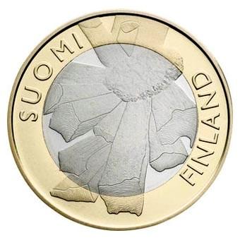 "Finland 5 Euro ""Ostrobothnia"" 2011"