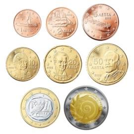 Griekenland UNC Set 2011