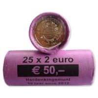 2 Euro 2012 - 10 Jaar Euro (rol 25st)