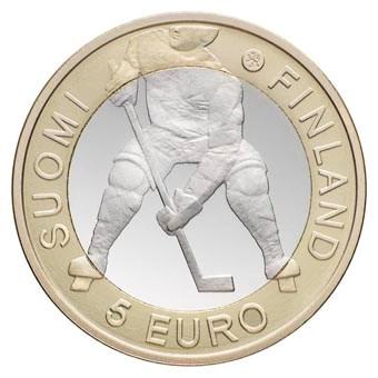 "Finland 5 Euro ""IJshockey"" 2012"