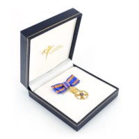 Miniatuur Nederlandse Leeuw Ridder Dames in etui