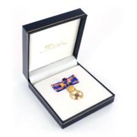 Miniatuur Nederlandse Leeuw Ridder Grootkruis Dames in etui