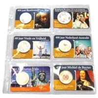 Set aanvulbladen Coincard Album (3 stuks)