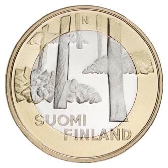 "Finland 5 Euro ""Satakunta Architectuur"" 2013"