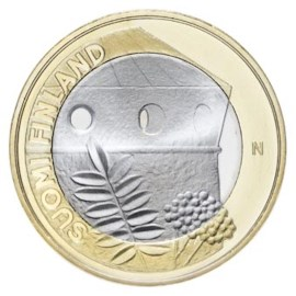 "Finland 5 Euro ""Savonia Architectuur"" 2013"