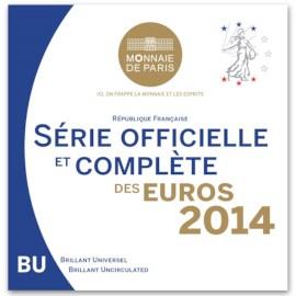 Frankrijk BU Set 2014