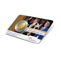 2 euro Koningsdubbelportret 2014 met mini-magazine