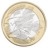 """Finland 5 Euro """"Wildernis"""" 2014"""