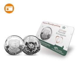 'Koperen Huwelijk' Penning 2014 in coincard