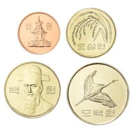 Zuid-Korea UNC Set 2010-2012