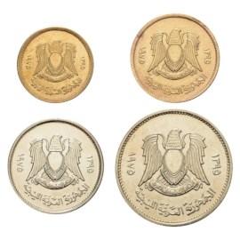 Libië UNC Set 1975