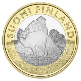 "Finland 5 Euro ""Dieren Varsinais-Suomi"" 2014"