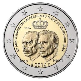"Luxemburg 2 Euro ""Grand-Duc Jean"" 2014"