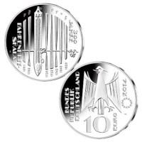 """Duitsland 10 Euro """"Fahrenheit"""" 2014"""