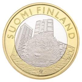 """Finland 5 Euro """"Dieren Uusimaa"""" 2015"""
