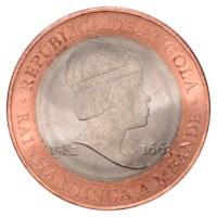 """Angola 20 Kwanza """"Njinga"""" 2014"""