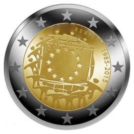 """Estland 2 Euro """"Europese Vlag"""" 2015"""