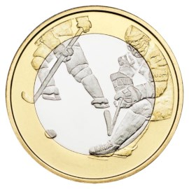 "Finland 5 Euro ""Ice Hockey"" 2016"