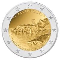 "Monaco 2 Euro ""800 Jaar Vesting"" 2015"
