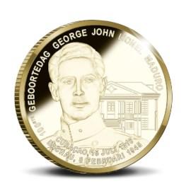 10 Gulden Curaçao en Sint Maarten 2016 Goud Proof - George Maduro