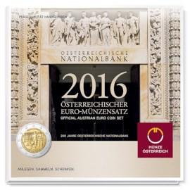 Oostenrijk BU Set 2016