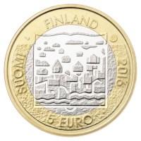 """Finland 5 Euro """"Ståhlberg"""" 2016"""