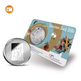 Jheronimus Bosch Vijfje 2016 UNC-kwaliteit in coincard