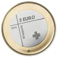 "Slovenië 3 Euro ""Rode Kruis"" 2016"