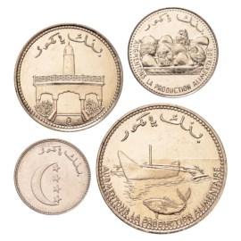Comoren UNC Set