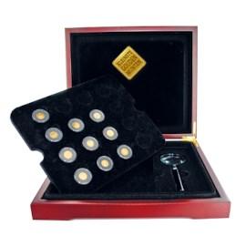 Kleinste Gouden Munten collectie