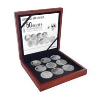 Zilveren 50 Gulden Herdenkingsmunten