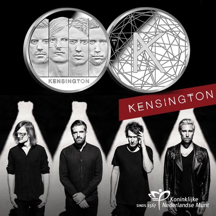 Kensington vereeuwigt op eigen penning