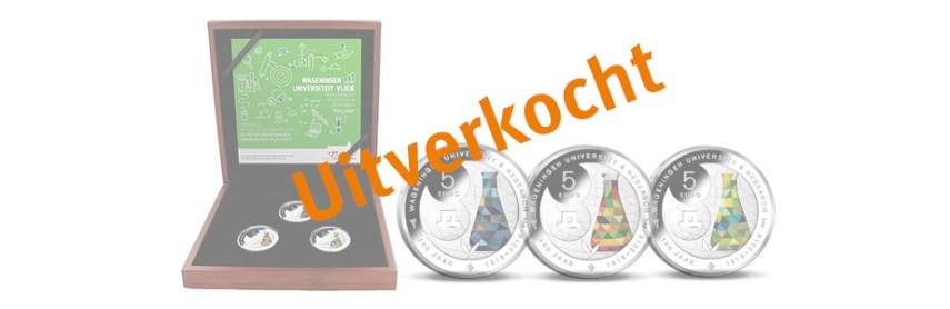 Zilveren Wageningen Universiteit Kleurset uitverkocht!
