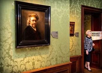 Prinses Beatrix opent themajaar 'Rembrandt & de Gouden Eeuw'