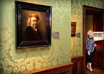 Princess Beatrix opens theme year 'Rembrandt & the Golden Age'