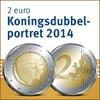 2 euro Koningsdubbelportret beperkt online beschikbaar
