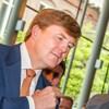 Koning Willem-Alexander slaat eerste 2 euro Koningsdubbelportret