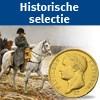 Unieke selectie historische munten en penningen 'Slag bij Waterloo'