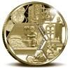 450 jaar Koninklijke Nederlandse Munt penning Goud Proof uitverkocht